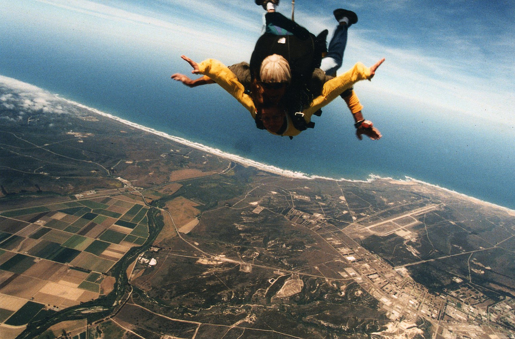 731メートル上空からパラシュート無しでダイブ!!果たして運命や如何に!?