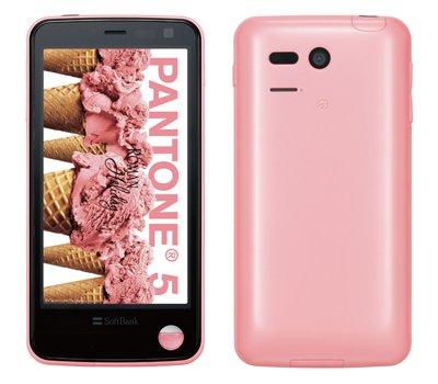 ソフトバンクが放射線測定可能なAndroidスマートフォン「PANTONE 5」を発表