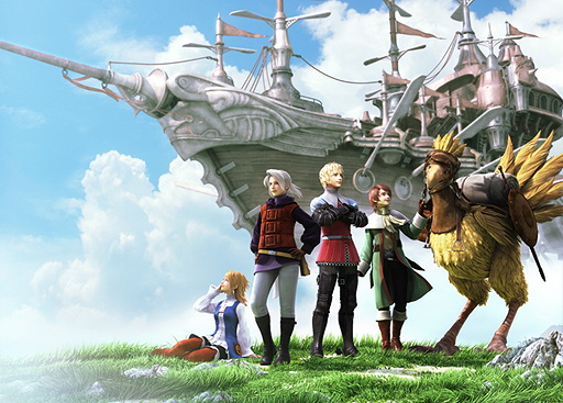 PSP向け『FINAL FANTASY III』は2012年9月20日発売!