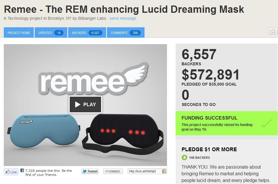 自由に夢を見れるようになるアイテム「Remee」