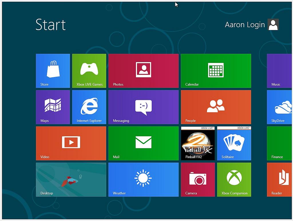 Windows 8 アップグレード版が安かったから入れて見た