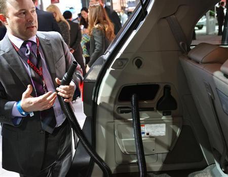 HONDAが車に掃除機を搭載!あーあるあ・・・ねーよ!www