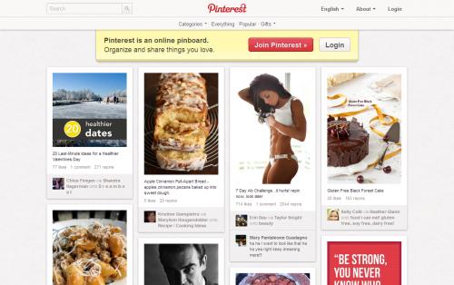 Pinterest - Home