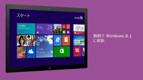 Windows8.1その1