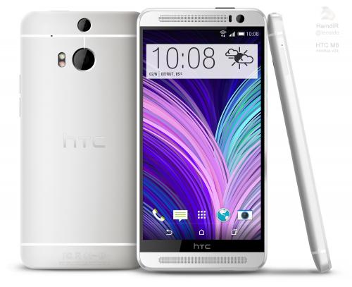 HTC ONE2(HTC M8)とされる画面がリークか
