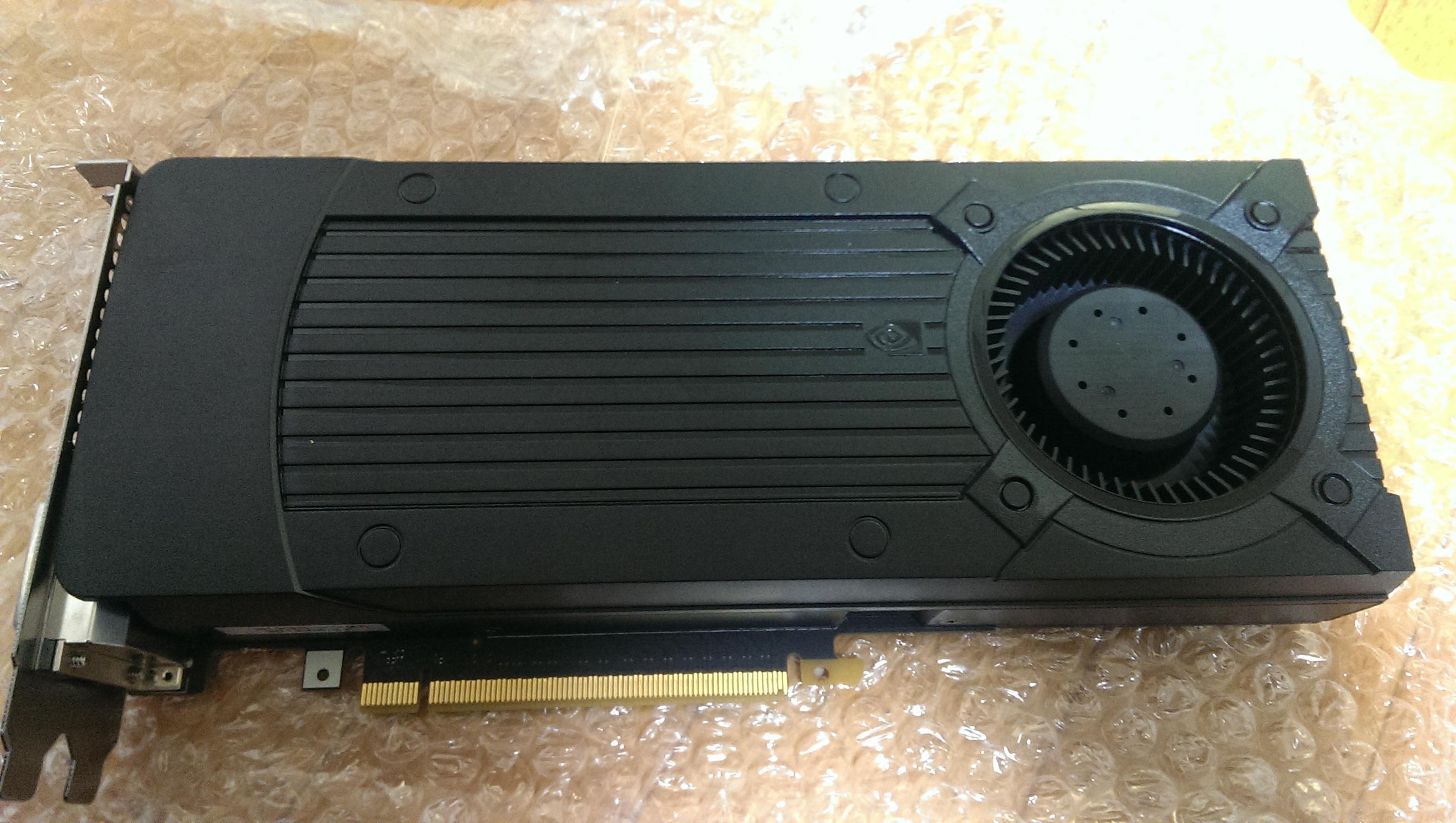 GTX660を購入して8800GTと比較してみた(落とし穴あり)
