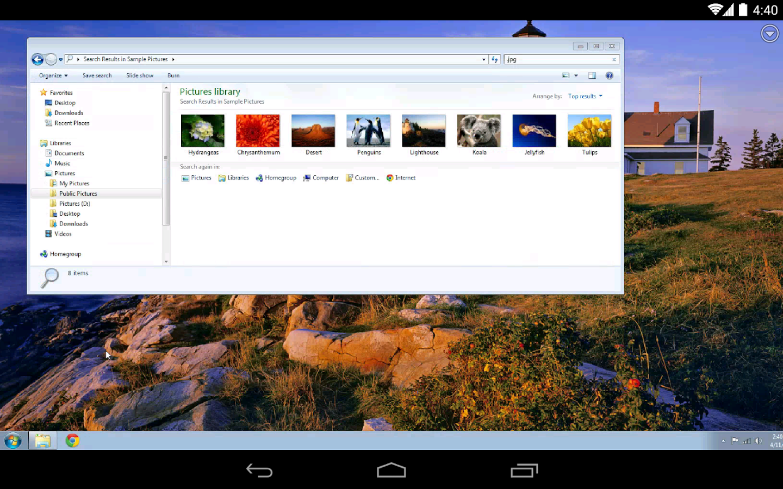 Chromeリモートデスクトップ のAndroid版がリリース