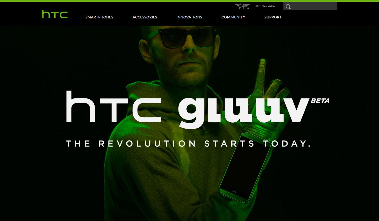 HTCから腕につけられるスマホ「HTC Gluuv」が!!