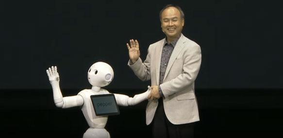 ソフトバンクがロボットを販売するそうです