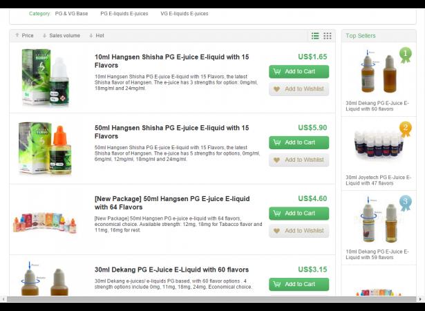 E-Liquid, E-Juice, E Cigarette Liquid   Heaven Gifts
