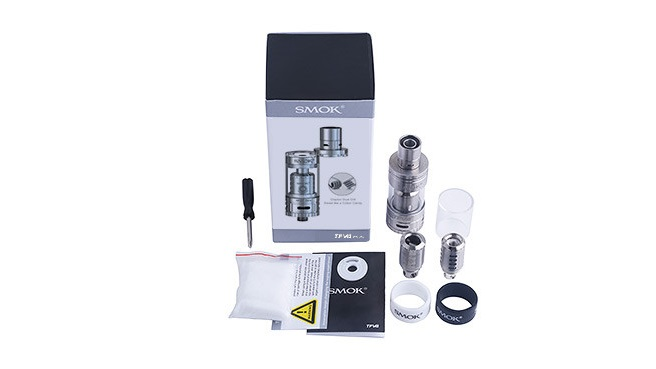 SMOK TFV4 Mini Tank Kit を買ってみた