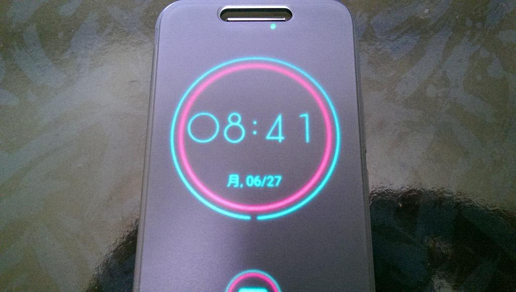 HTC10の純正 ICE VIEWケースを使ってみての感想