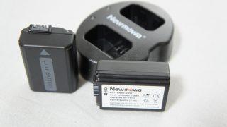 SONYのNEX-5の互換バッテリーを購入してみた