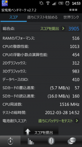 """xperia_ray Xperia ray """"も""""オーバークロックしてみた"""