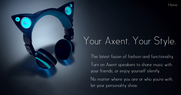 Axent Wear  music, redesigned.