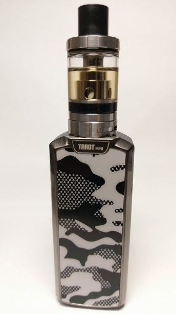 DSC08248-615x410 80W Vaporesso Tarot Mini TC 18650 Kit を買ってみた