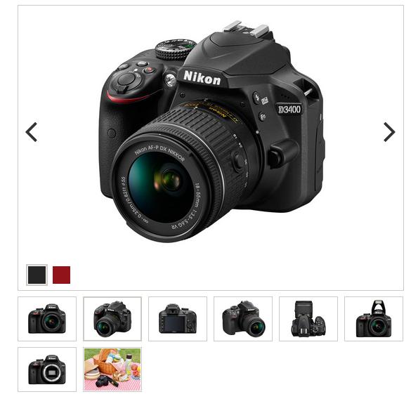 D3500 NIKONのD3400が欲しいと思っていたらD3500が出るらしいので比べてみた