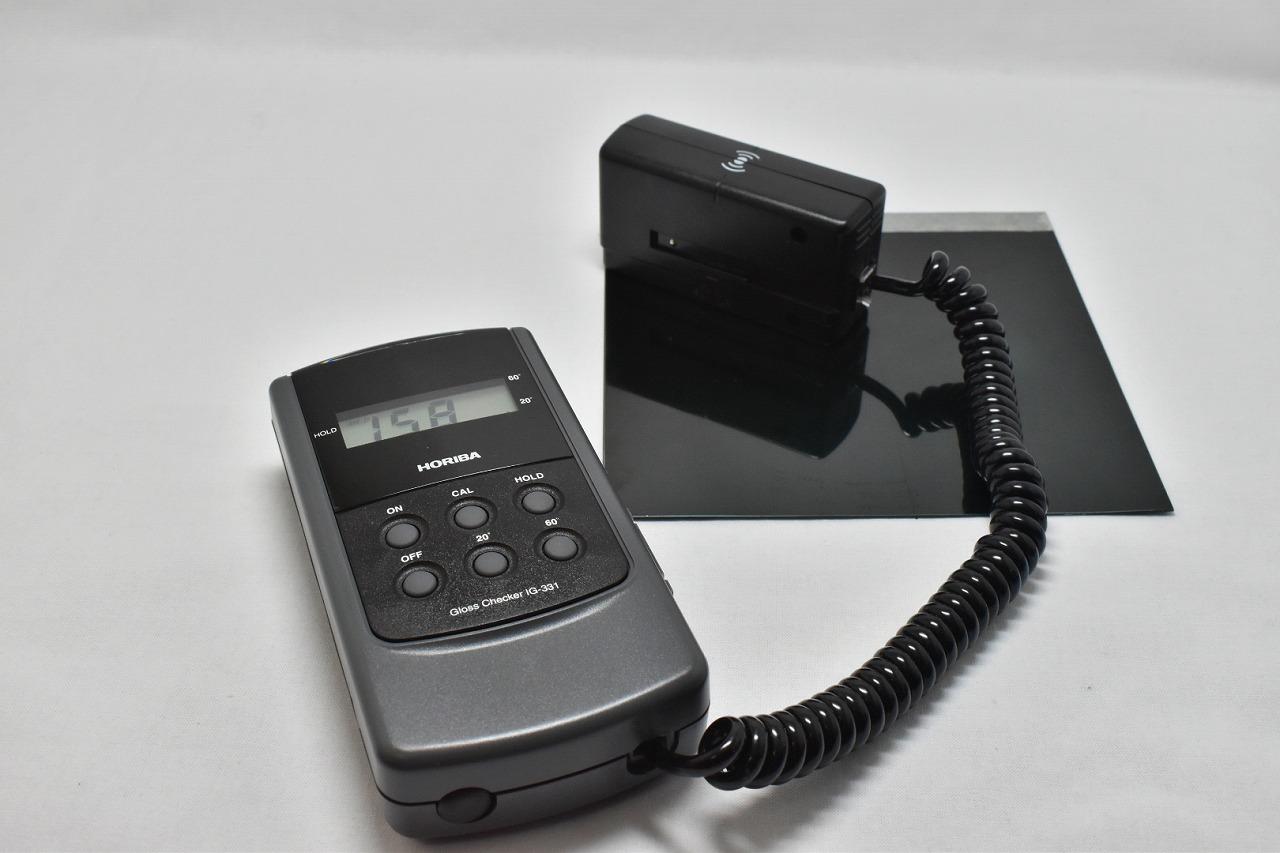 DSC_3494 HORIBA グロスチェッカー IG331を買ってみた